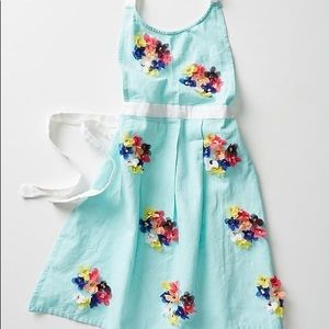 💐HP💐Anthropologie Colorful Paillette Apron